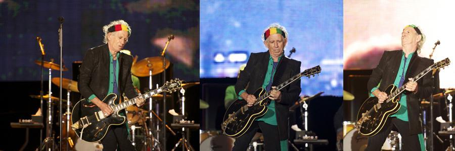 Rolling Stones Rock in Rio 2014 Keith Richards
