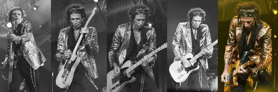 Rolling Stones Keith Richards Zurich 2003